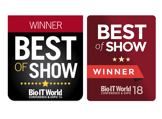 Bio-IT World awards 2016 & 2018