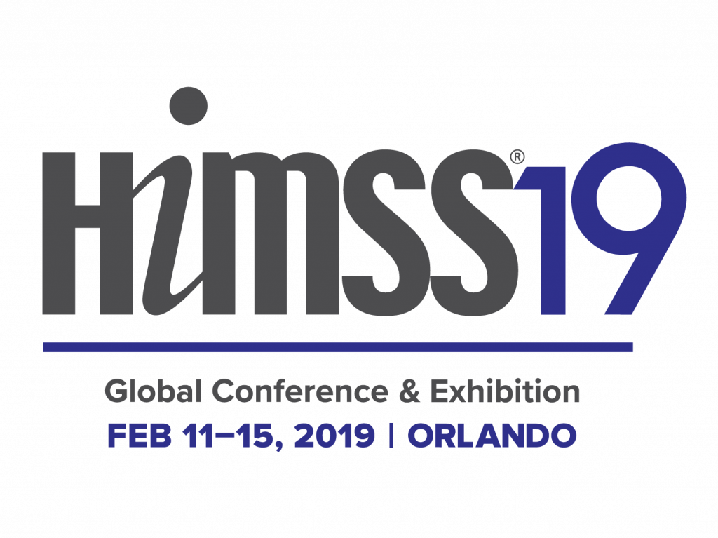Logo for HIMSS conference and exhibition