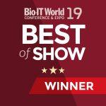 Bio-IT Best of Show 2019 winner logo